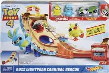 HOT WHEELS STAZA TOY STORY BUZ CARNIVAL RESCUE