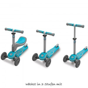 T SCOOTER T1 BLUE SMART TRIKE